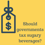 Should governments tax sugary beverages_